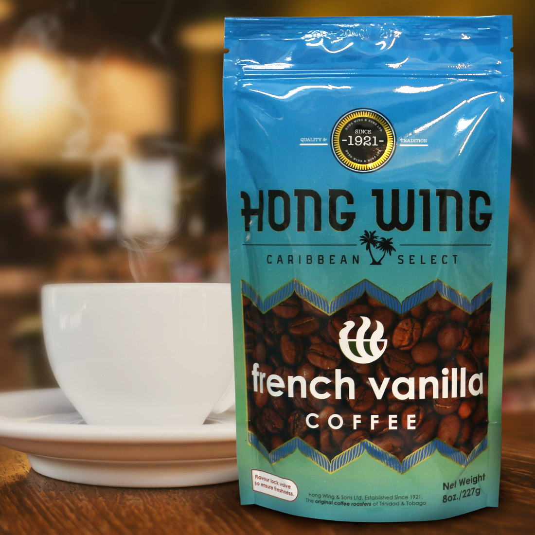 French Vanilla - Ground (Stand Up Pouch) - Wholesale