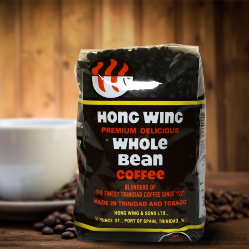 Premium Hong Wing Whole Bean Coffee - Retail